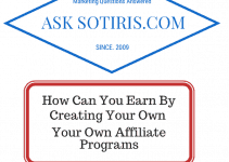 How Can You Earn by Creating your own Affiliate Programs