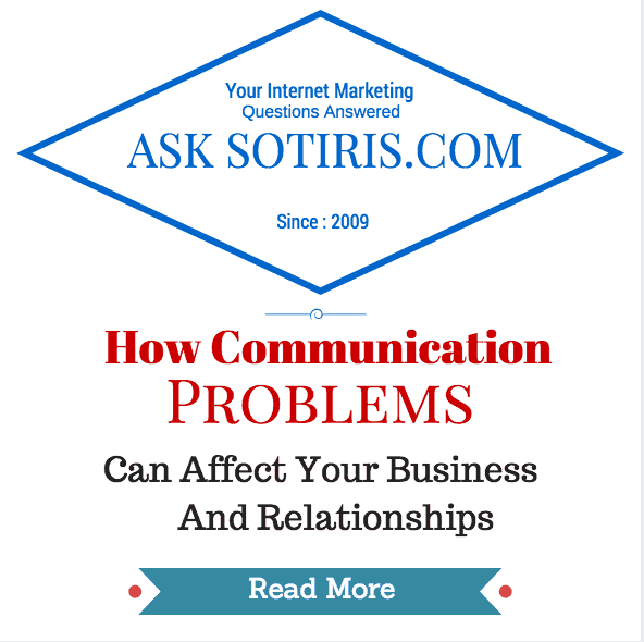 How Communication Problems Can Affect Your Business And Relationships