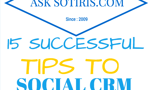 15 Successful Tips to Social CRM