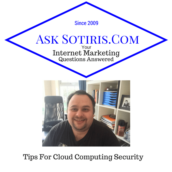 Tips For Cloud Computing Security