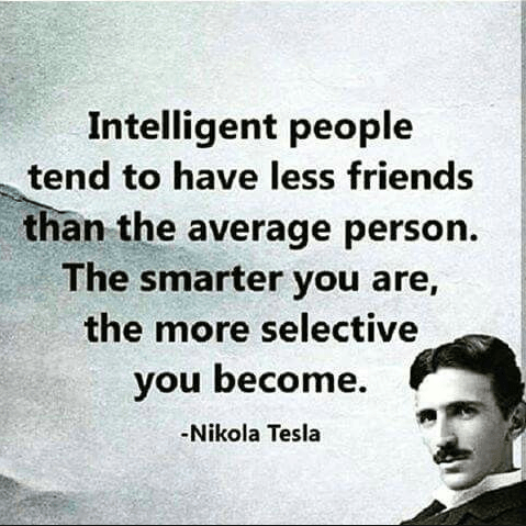 Nikola Tesla Quotes Intelligent People