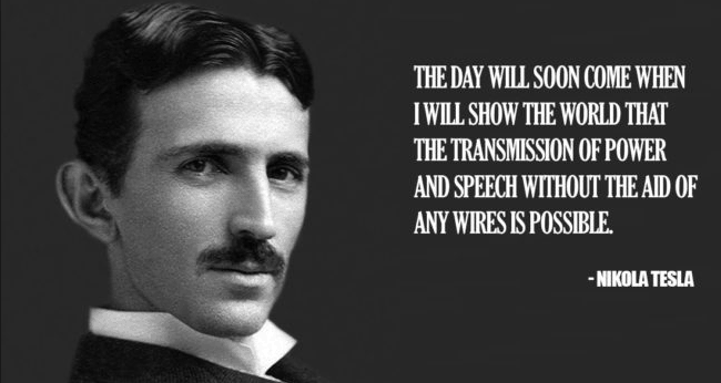 Tesla Quotes Wireless Power