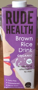 Rude Health Brown Rice Milk