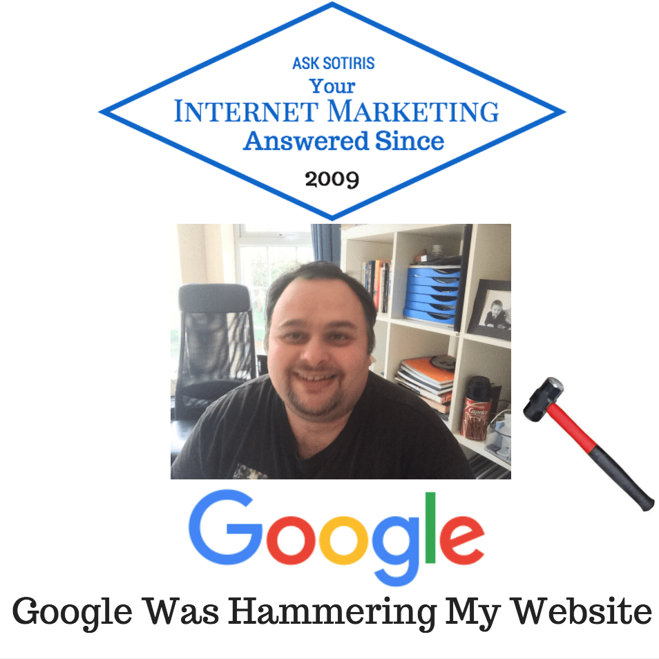 Google Was Hammering My Website