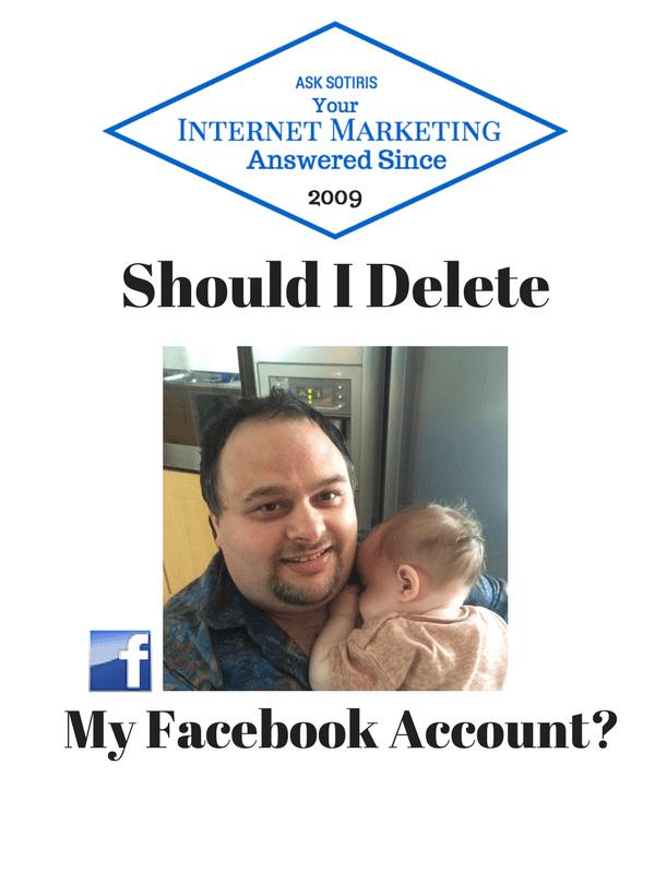 Should I Delete My Facebook Account
