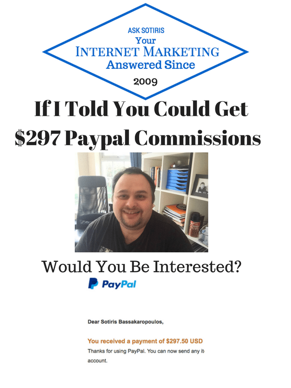 $297 Paypal Commissions