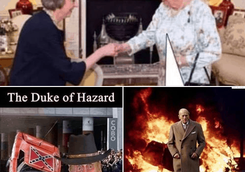 Prince Philip Meme's Gags Of The Week