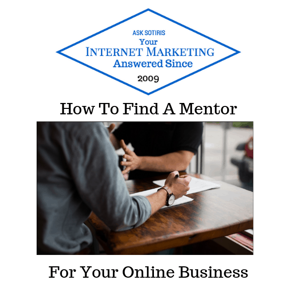 How To Find A Mentor For Your Online Business