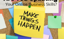 Are You Updating Your Online Business Skills?