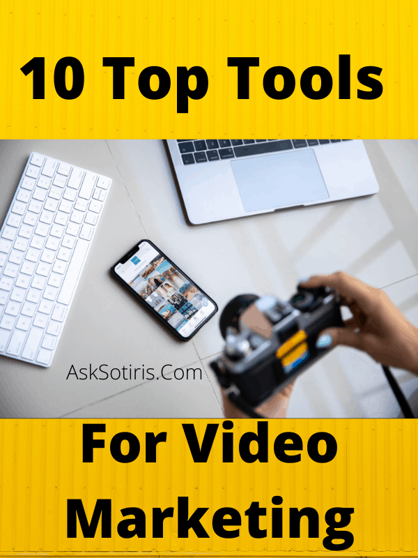10 Top Tools For Video Marketing