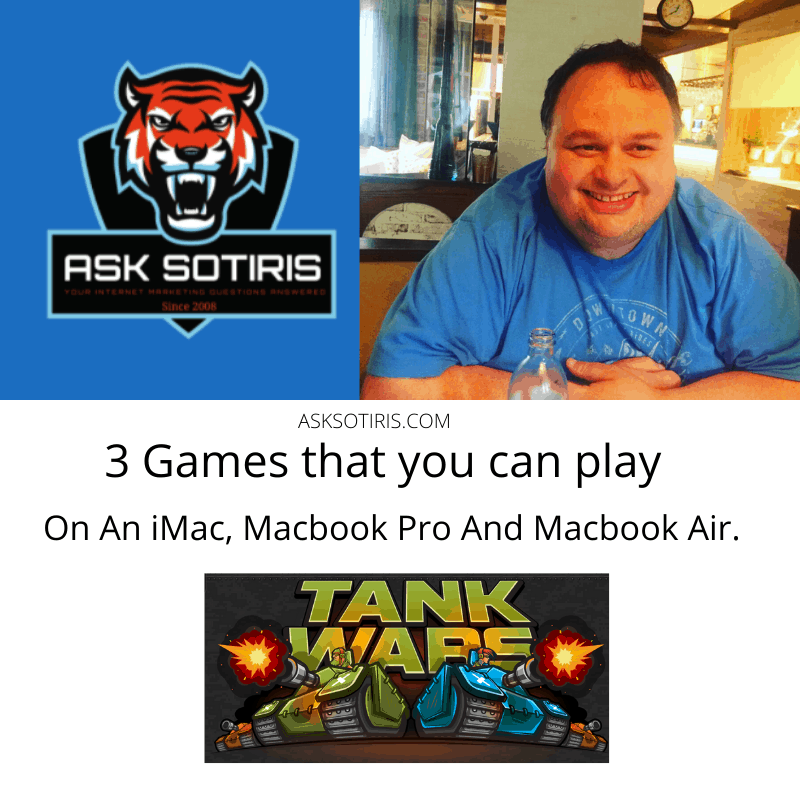 3 Games that you can play on an iMac, Macbook Pro And Mac Air.