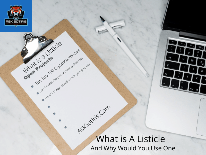 What Is A Listicle And Why Would You Use One